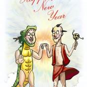 2012の年賀状。
